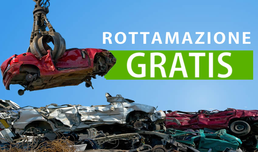 Demolizioni Auto Gratis Nemi - Rottamazione Gratis
